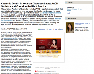 cosmetic, dentist, dentistry, houston, tx