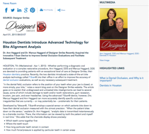 dental occlusion,bite misalignment,bite analysis,t-scan,dental technology